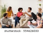 friendship  people and... | Shutterstock . vector #554626033