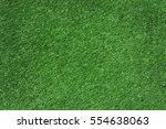 football grass field as big... | Shutterstock . vector #554638063