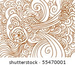 abstract chaos background