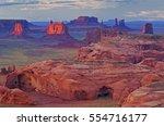 Monument Vally  Utah  At Dawn
