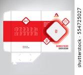 business folder  design cover... | Shutterstock .eps vector #554725027