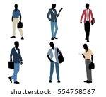 vector illustration of a six... | Shutterstock .eps vector #554758567