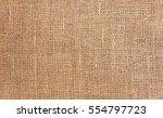 rustic jute sackcloth fabric as ... | Shutterstock . vector #554797723