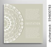 invitation or card template... | Shutterstock .eps vector #554830783