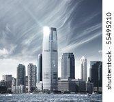 Future City   New York Skyline