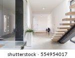 White Villa Interior Wih...
