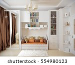 tender and bright children's...   Shutterstock . vector #554980123