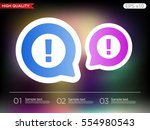 colored icon or button of... | Shutterstock .eps vector #554980543