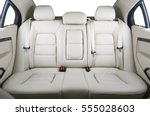 back passenger seats in modern... | Shutterstock . vector #555028603