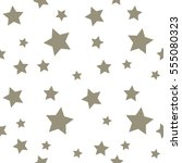 star seamless pattern. chaotic... | Shutterstock .eps vector #555080323