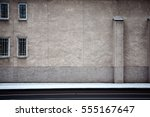 Aged Weathered Street Wall Wit...