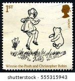 great britain   circa 2010  a...   Shutterstock . vector #555315943