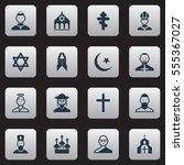 set of 16 editable religion...