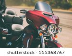 red road bike cruiser ...   Shutterstock . vector #555368767