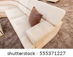 modern sofa for the living room ... | Shutterstock . vector #555371227