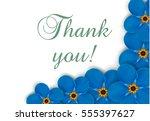 romantic invitation. | Shutterstock .eps vector #555397627
