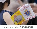 Small photo of Turin,Italy-June 22, 2015:Pope Francesco meets on the faithful on Piazza Vittorio Emanuele in Turin, Italy