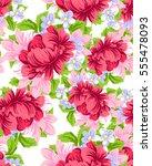 abstract elegance seamless... | Shutterstock . vector #555478093