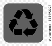 recycle interface toolbar... | Shutterstock .eps vector #555493327