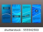 design elements presentation... | Shutterstock .eps vector #555542503