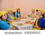 children on vacation children's ... | Shutterstock . vector #555559537