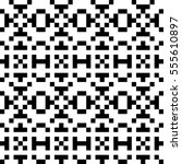 vector seamless pattern.... | Shutterstock .eps vector #555610897