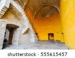valencia  spain   circa july... | Shutterstock . vector #555615457
