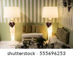 romantic atmosphere for nuptial ... | Shutterstock . vector #555696253