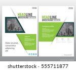 abstract vector modern flyers...   Shutterstock .eps vector #555711877