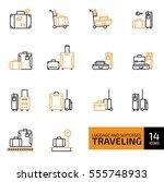 vector illustration of thin...   Shutterstock .eps vector #555748933