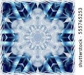 Pretty Fractal Snowflake On...