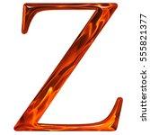uppercase letter z   the... | Shutterstock . vector #555821377