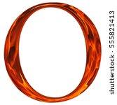uppercase letter o   the... | Shutterstock . vector #555821413