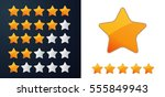 star rating   illustration | Shutterstock .eps vector #555849943