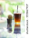 iced coffee | Shutterstock . vector #555867937