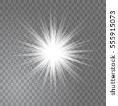 bright glowing light sun burst...   Shutterstock .eps vector #555915073