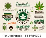 medical marijuana product label ...   Shutterstock .eps vector #555984373