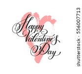 happy valentines day... | Shutterstock .eps vector #556007713