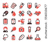 health medical vector icons. | Shutterstock .eps vector #556010677