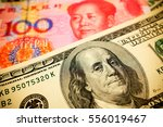Chinese Yuan Note And U.s....