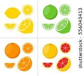 citrus | Shutterstock .eps vector #556043413