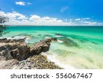 the incredible blue water of... | Shutterstock . vector #556067467