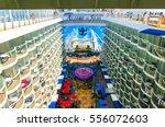 bacselona  spain   september  6 ... | Shutterstock . vector #556072603