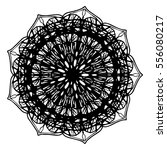 mandalas for coloring book.... | Shutterstock .eps vector #556080217