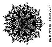 mandalas for coloring book.... | Shutterstock .eps vector #556080247