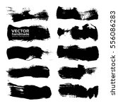 abstract black big textured...   Shutterstock .eps vector #556086283