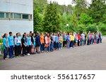 children on vacation children's ... | Shutterstock . vector #556117657