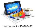 office stock exchange market... | Shutterstock . vector #556208653