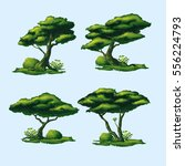 a high quality trees with a... | Shutterstock .eps vector #556224793