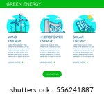 type of renewable energy info... | Shutterstock .eps vector #556241887